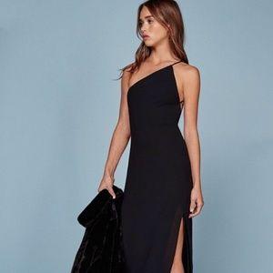 REFORMATION BLACK BALBOA DRESS